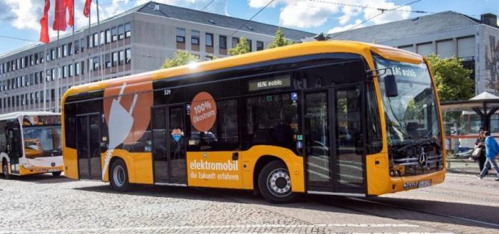 Fünf neue Elektrobusse vom Typ eCitaro eingetroffen