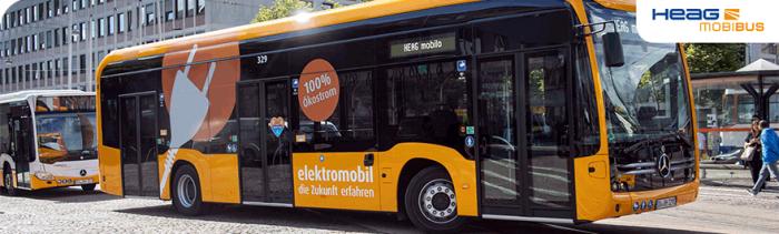 Bus der HEAG mobiBus