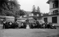 Der Fuhrpark von Glück & Seitz 1925