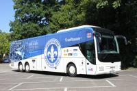Der Mannschaftsbus des SV Darmstadt 98 2015/2016