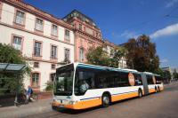 Mit neuen Großraumbussen reagiert HEAG mobiBus auf die steigenden Fahrgastzahlen.