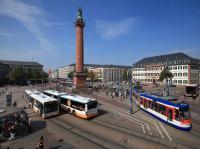 ÖPNV-Situation Luisenplatz