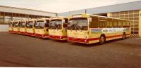 Die Busflotte der HEAG 1978