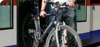 Ausstieg mit Fahrrad
