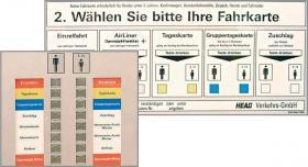 Automat stationär Fahrkartenwahl